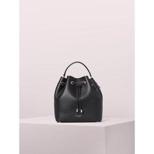 Kate Spade黑色水桶包包