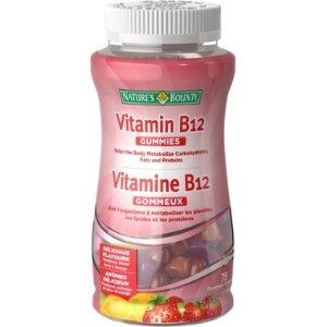 Nature's BountyB12 维生素软糖 75粒装