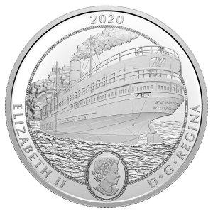 基威廷蒸汽船 纪念币 $30