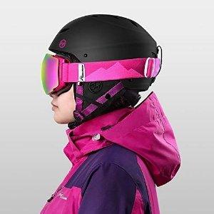 $23.79(原价$33.99)+包邮OutdoorMaster 滑雪防护头盔 ASTM认证 多色可选