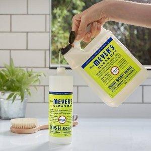 $10.98 香味清新自然Mrs. Meyer's 梅耶太太 柠檬马鞭草洗手液 大桶装975ml