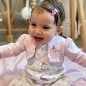 低至5折 软萌两件套$15.6起Little Me 童装 粉粉嘟小公主、奶酷小王纸 多款100%纯棉亲肤