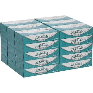 Angel Soft Professional Series Angel Soft ps Facial Tissue, 2 Ply - White