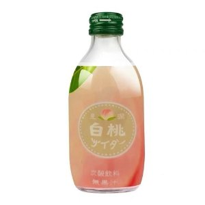 日本 白桃味碳酸饮料 300ml