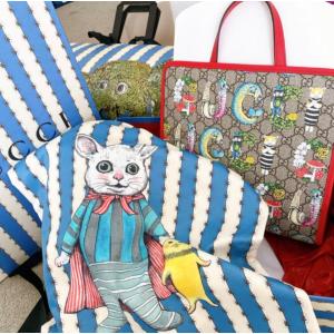 再不抢就没了 €130收爆款联名Gucci X Yuko Higuchi 可爱联名上线 古灵精怪 简直萌翻啦