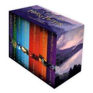 $69.99(原价$259.95)Harry Potter 哈利波特经典组合,全套7本