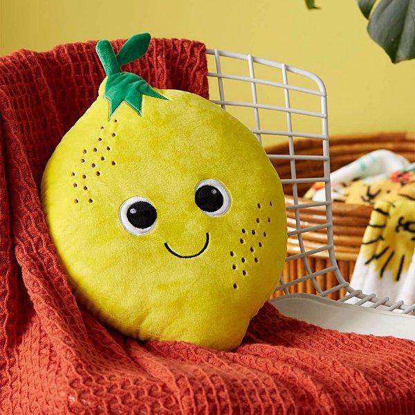 微笑柠檬抱枕