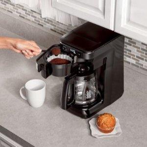 $39.99(原价$59.99)黑五价:Hamilton Beach 12杯 家用可编程咖啡机