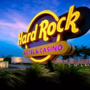 $191/晚起 5折左右Punra Cana 蓬塔卡纳 Hard Rock 全包式赌场酒店促销