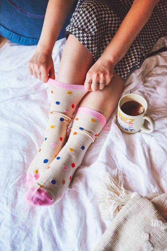 可爱风长袜