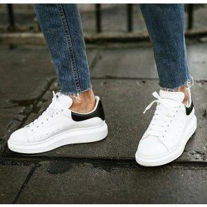 低至7折 £88收卡包 超多小白鞋Alexander McQueen 惊喜折扣上线 超多经典款 百搭的时尚