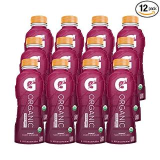 $12.91起闪购:佳得乐 G Organic 运动饮料 多种口味可选 16.9 Fl Oz. 12瓶