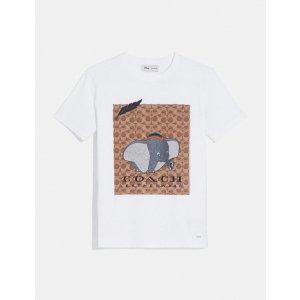 CoachDisney X Coach Dumbo Signature T-Shirt