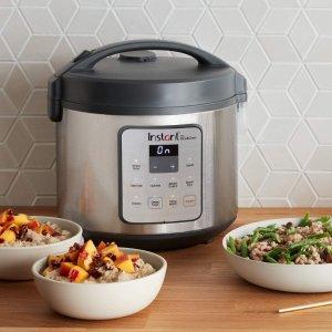 $69.99(Bestbuy$89.99)Instant Pot Zest 20杯大容量 智能电饭煲 轻松煮出蓬松可口米饭