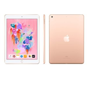32GB玫瑰金补货 $249黒五价:Apple iPad 9.7