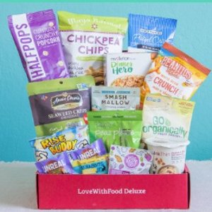 40% offAll-Natural Snacks plans @Love with Food