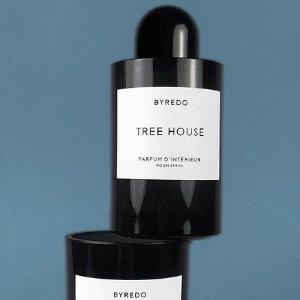 无门槛8折 €48收最后3个!Byredo 香氛蜡烛 Tree House 森林树屋 喜欢木香的不能错过