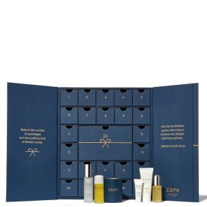 7折 ¥843到手 赠护肤套装Espa 圣诞礼盒 2018,英国顶级水疗品牌,今年颜值最高礼盒