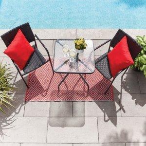 最高直降$400Rona 庭院家具促销热卖 $79.99收封面餐桌椅3件套