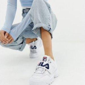 $51(原价$100)Fila Heritage Disruptor II 老爹鞋 5码-9码 脚感舒适显腿长