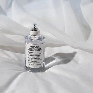 低至6.3折 仅€72收100ml!Maison Margiela 大师级香氛热促 收爆款慵懒周日 法式小清新