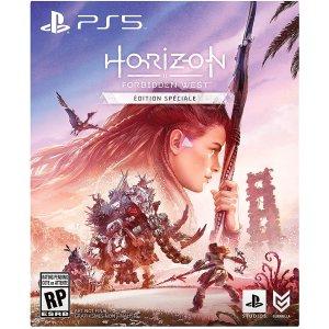 Ps4版仅$79.99补货:《地平线:西部禁域》PS4/PS5 独占大作 预售开启