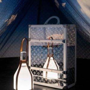 硬核百万售价 不单卖Louis Vuitton 新品帐篷抢先看 帐篷+硬箱Monogram组合狂想