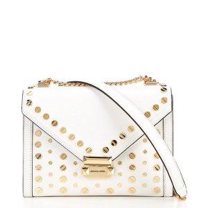 Michael KorsWhitney Large Studded Shoulder Bag   Dillard's