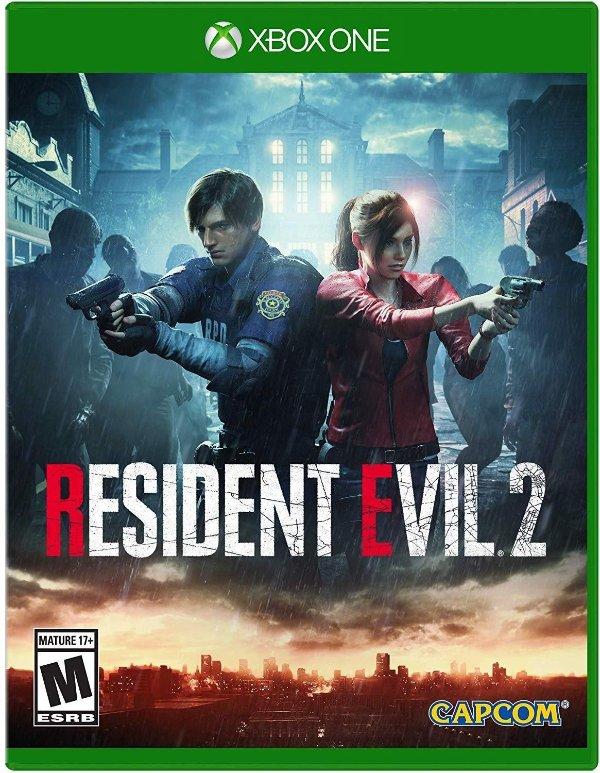 《生化危机2 重制版》 Xbox 实体版