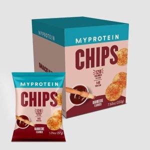 MYPROTEINBBQ口味蛋白薯片 6包