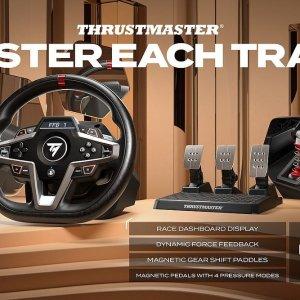 $499.99 10月21日上车Thrustmaster T248P 搅局级入门方向盘套装 开放预购