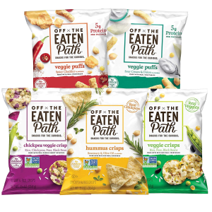 现价$14.98(原价$19.98)Off The Eaten Path 蔬菜脆片 1.25oz 混合口味16包