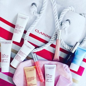 UP To 30% OffSelect Skus @ Clarins