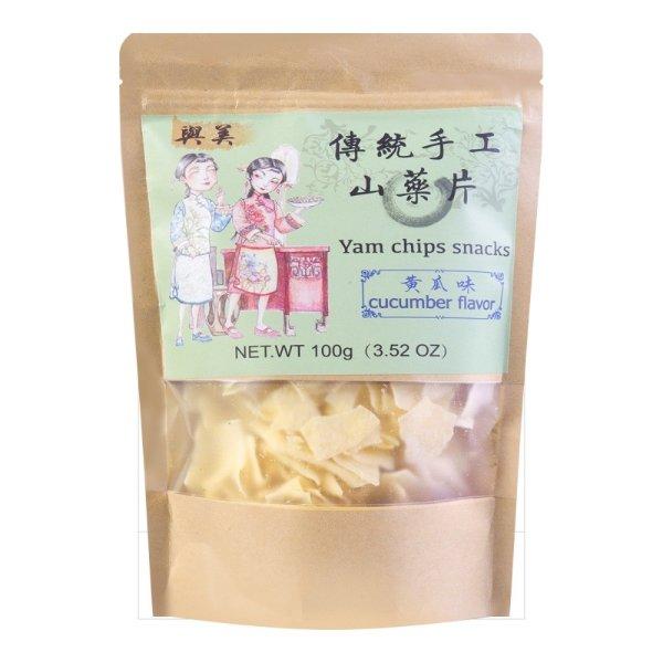 与美 传统手工山药片 黄瓜味 100g