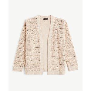 Ann TaylorBuy 1 Get 2 FreeCrochet Sweater Jacket