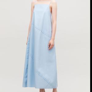 VOLUMINOUS STRAP DRESS - Fresh sky - Dresses - COS
