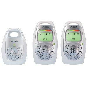 $49.99 (原价$79.99)VTech DM223-2 数字音频婴儿监视器 带2个父母终端