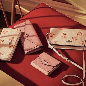 5折 小卡包$57 钱包$62最后一天:Coach精选长钱夹、小钱包、卡包等热卖