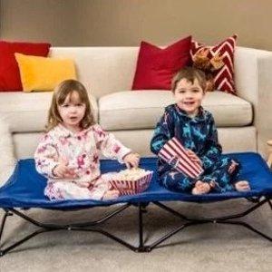 $38.88(原价$49.99)Regalo Baby  可折叠便携式幼童床 旅行携带也合适