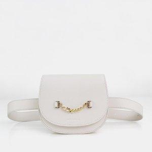Ciao Bella - Cream Leather Belt Bag