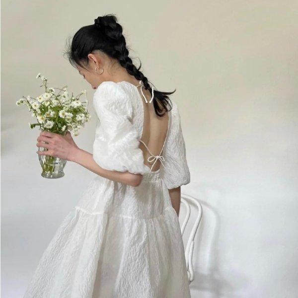爆款小白裙