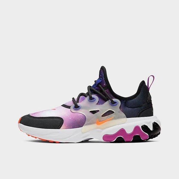 React Presto Print 大童运动鞋