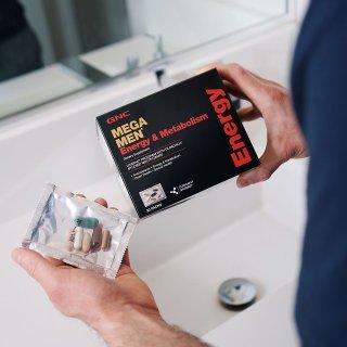 低至$7.99 + 立减$10即将截止:GNC Mega系列 男士保健品大促 收综合维生素