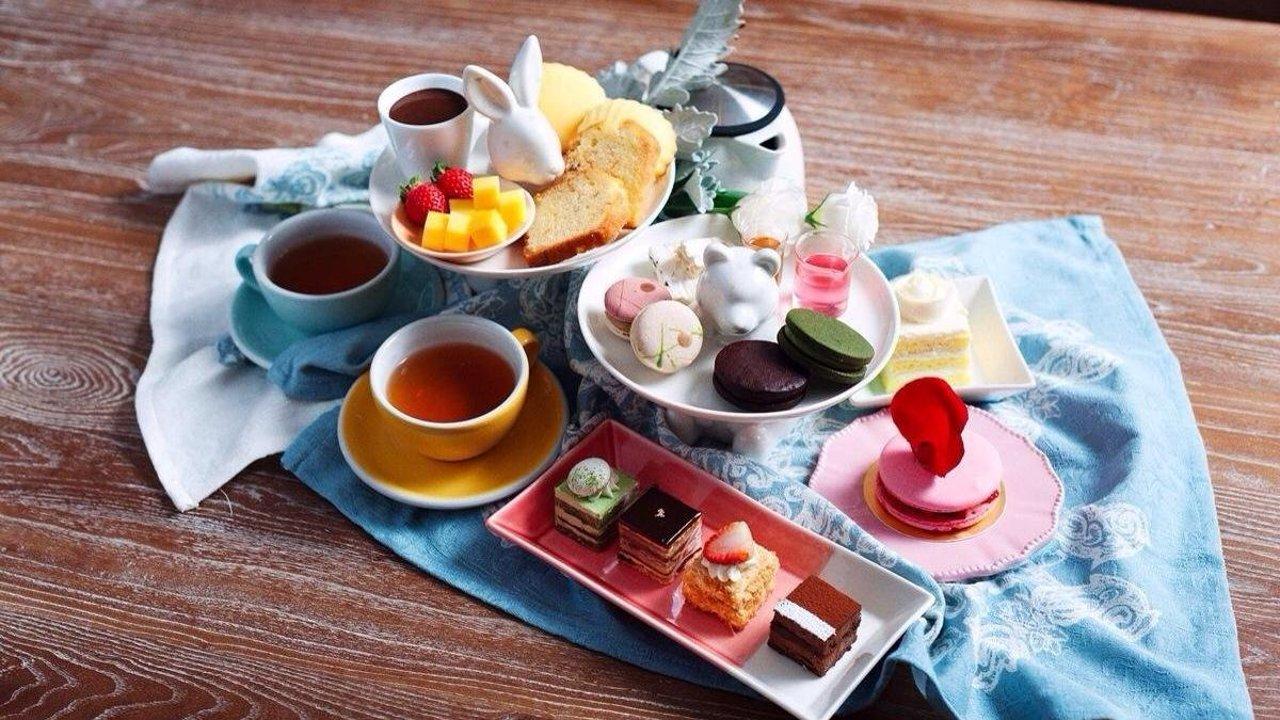 一起来喝下午茶,我请!