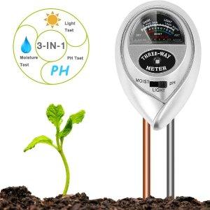 6.6折 白菜价€5.77闪购:BIFY 3合1土壤测试仪热促 养花草必备 重要数据轻松知晓