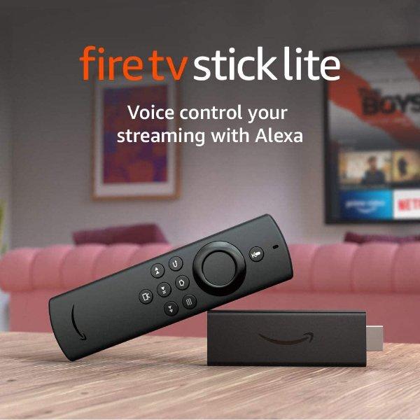 全新Fire TV Stick Lite电视棒 支持Alexa