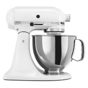 KitchenAid Refurbished Artisan Series Stand Mixer - White RRK150WH : Target