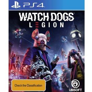 黄金版享8.1折《看门狗:军团》XBOX/PS4 实体版 预售开启