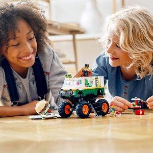 $50.23(原价$69.99)Lego 创意三合一系列 怪物卡车汉堡店31104 (共499粒)