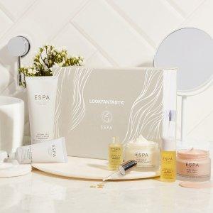 8折仅¥421 免邮中国折扣升级:Lookfantastic X ESPA 限量美妆礼盒,含6件明星产品